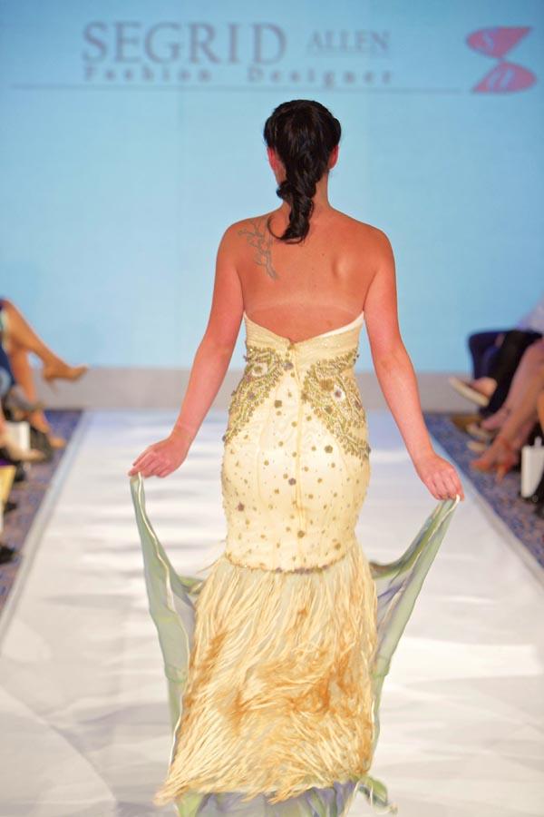 Segrid Allen - Birmingham Fashion Week 06-09-15 #BFW; #BirminghamFashionWeek2015